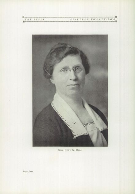 1922 Ripon High School Yearbook Page 8