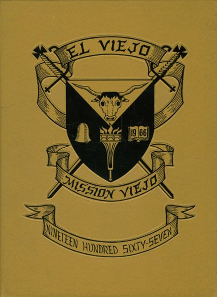 1967 Mission Viejo High School Yearbook Cover