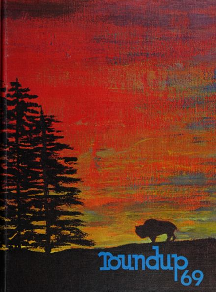 1969 Great Falls High School Yearbook Cover