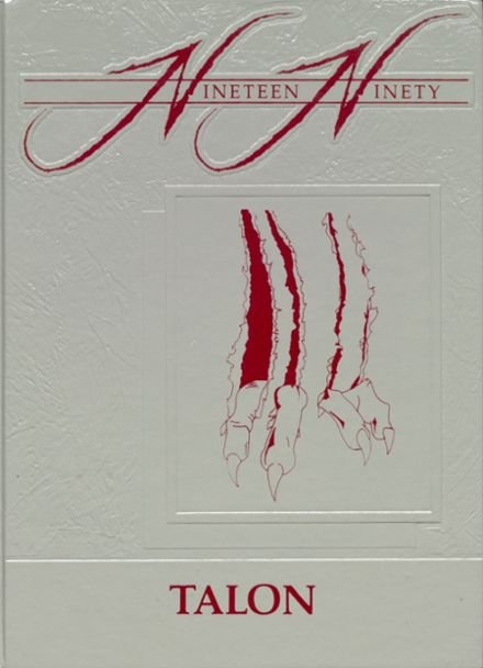 1990 Jefferson Area High School Yearbook Cover