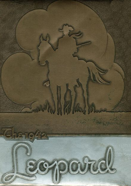 1942 Gainesville High School Yearbook Cover