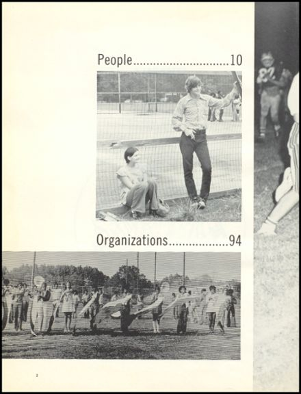 1974 Escambia County High School Yearbook Page 6