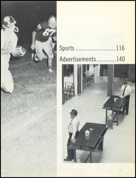1974 Escambia County High School Yearbook Page 7