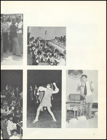 1974 Escambia County High School Yearbook Page 9