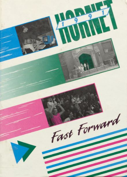 1991 Eureka High School Yearbook Cover