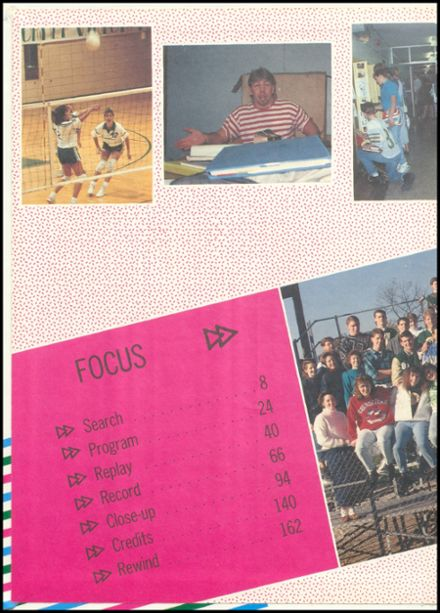 1991 Eureka High School Yearbook Page 2