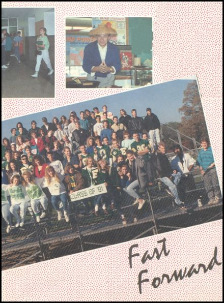 1991 Eureka High School Yearbook Page 3