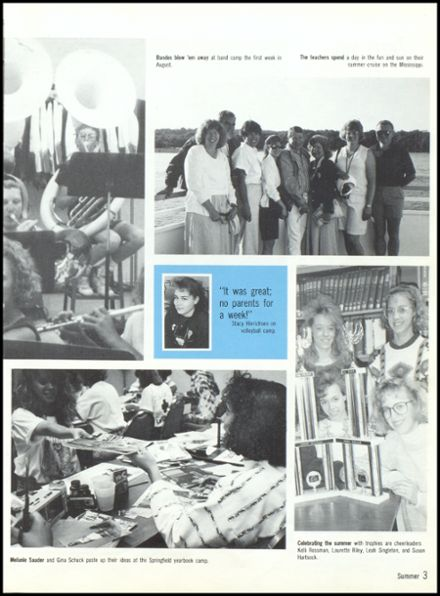 1991 Eureka High School Yearbook Page 7