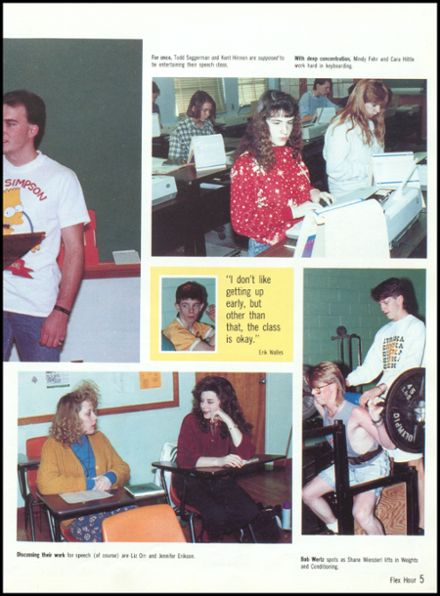 1991 Eureka High School Yearbook Page 9