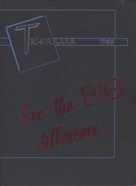 1988 Orem High School Yearbook Cover