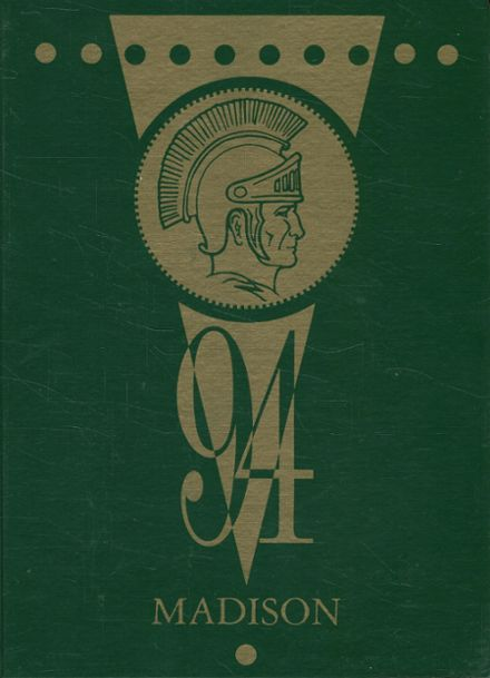 1994 Madison High School Yearbook Cover