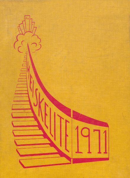 1971 North Hagerstown High School Yearbook Cover
