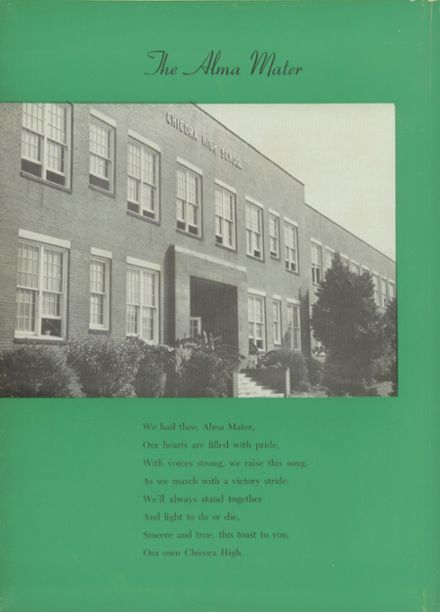 1951 Chicora High School Yearbook Page 6