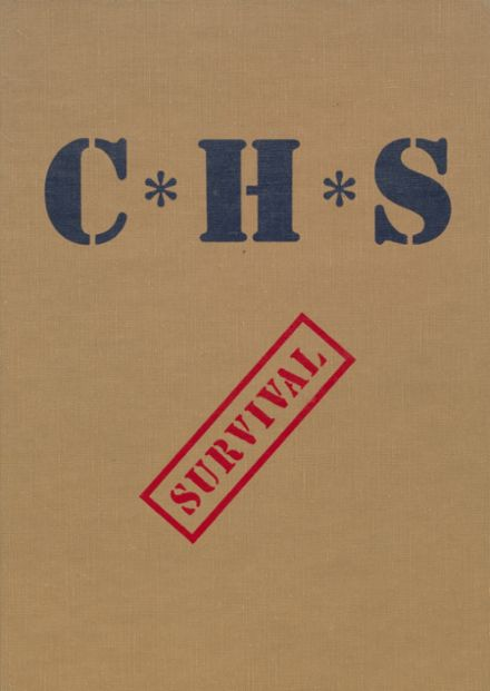 1986 Cyril High School Yearbook Cover