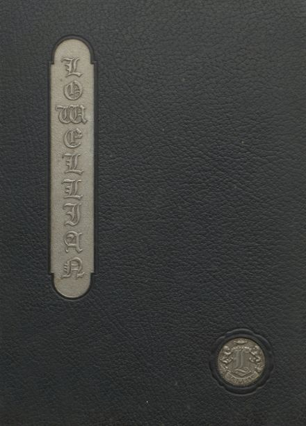1927 Lowell High School Yearbook Cover