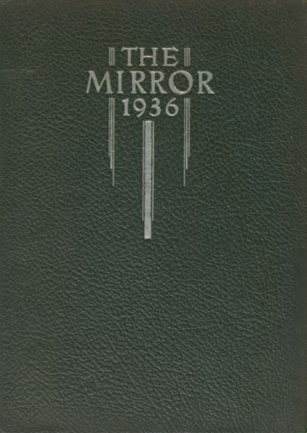1936 Columbia High School Yearbook Cover