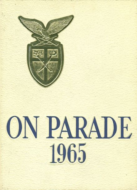 1965 St. Joseph's Military High School Yearbook Cover