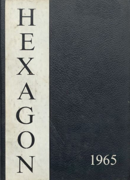 1965 Seventy-First High School Yearbook Cover