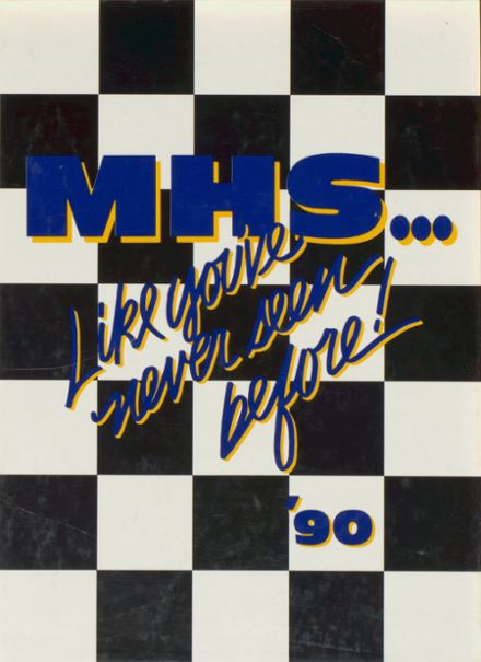 1990 McKinney High School Yearbook Cover