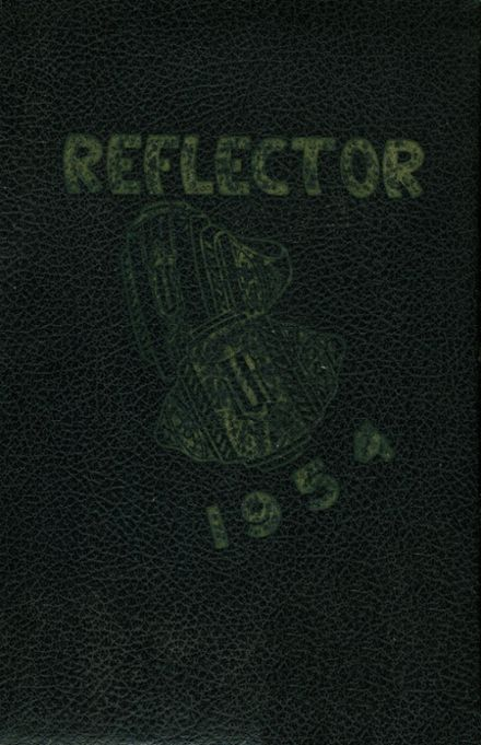 1954 East Union Center High School Yearbook Cover