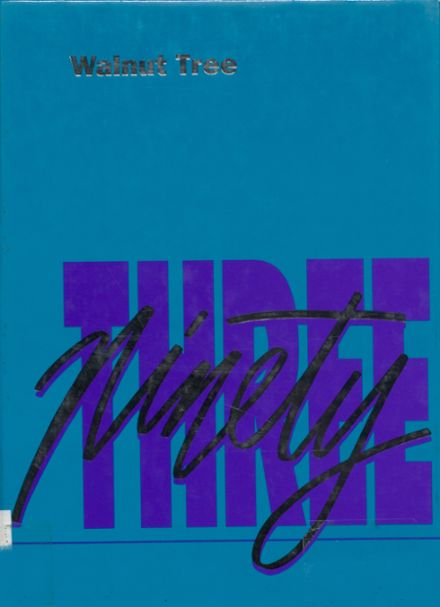 1993 Walnut Community High School Yearbook Cover