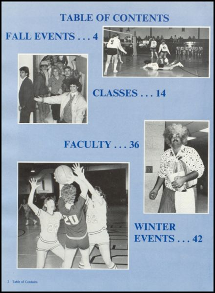 1988 Rib Lake High School Yearbook Page 6