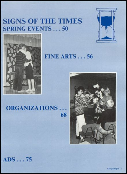 1988 Rib Lake High School Yearbook Page 7