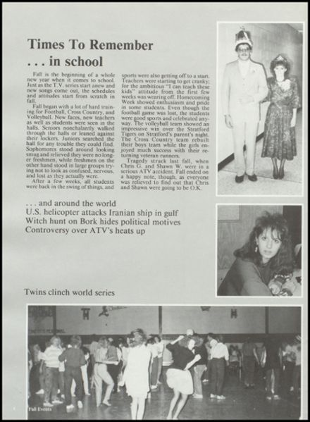 1988 Rib Lake High School Yearbook Page 8