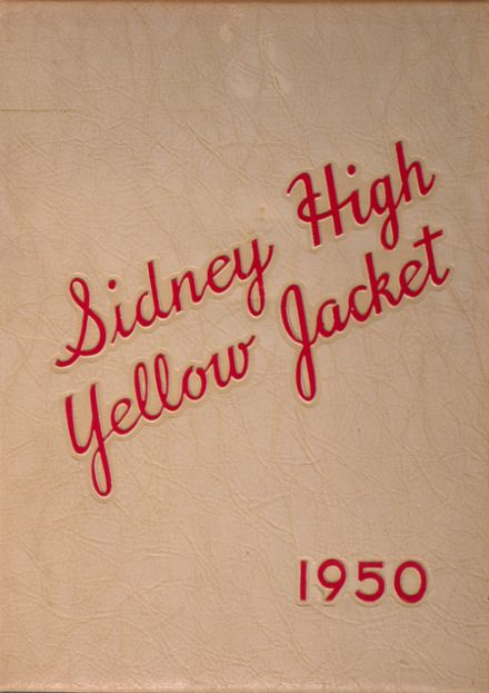 1950 Sidney High School Yearbook Cover