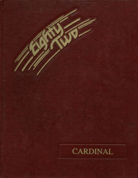1982 Glendale High School Yearbook Cover