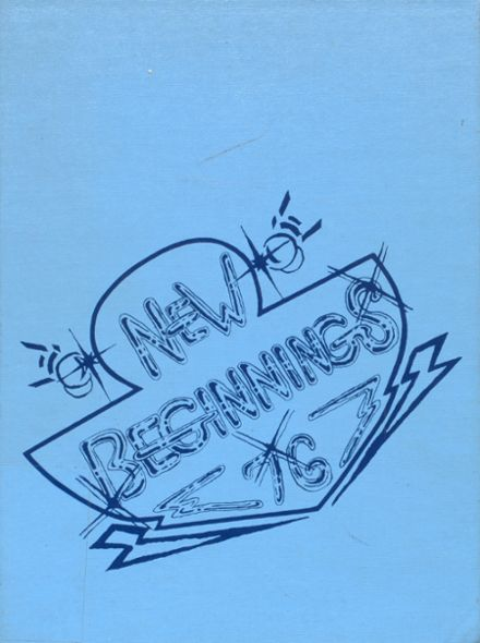 1976 Wicomico High School Yearbook Cover