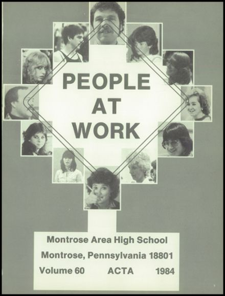 1984 Montrose High School Yearbook Page 5