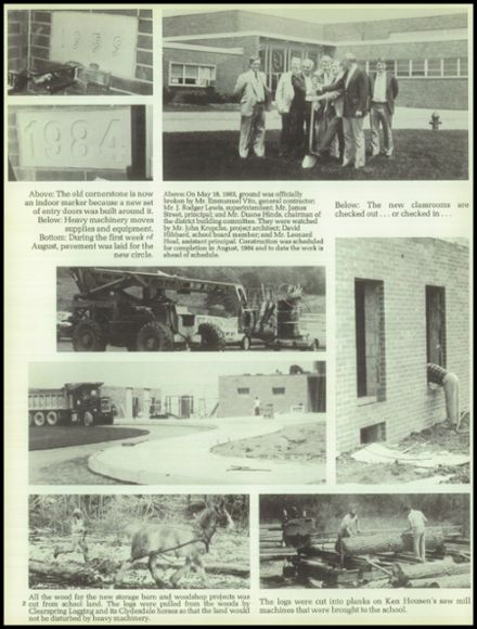 1984 Montrose High School Yearbook Page 6