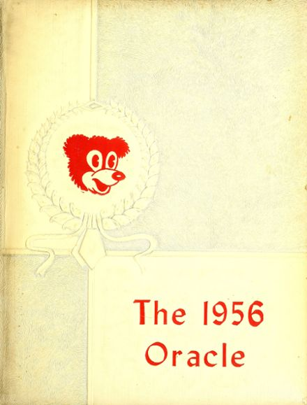 1956 Ossian High School Yearbook Cover