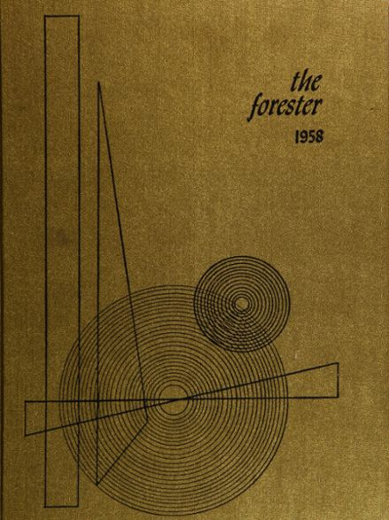 1958 Forest Hills High School Yearbook Cover