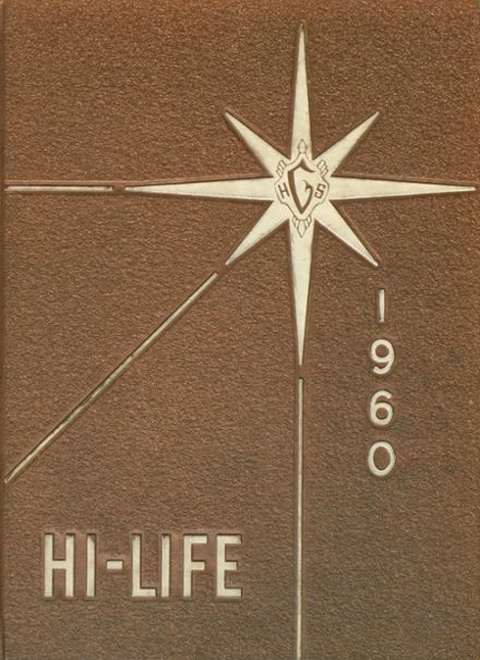 1960 Greenville High School Yearbook Cover
