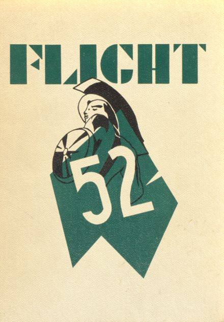 1952 Westchester High School Yearbook Cover