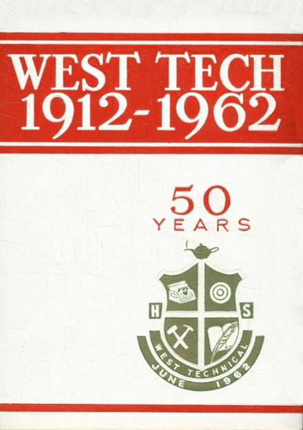 1962 West Technical High School Yearbook Cover