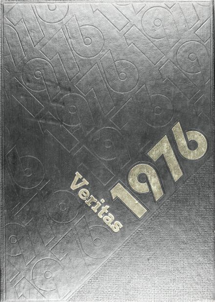 1976 Bishop Lynch High School Yearbook Cover