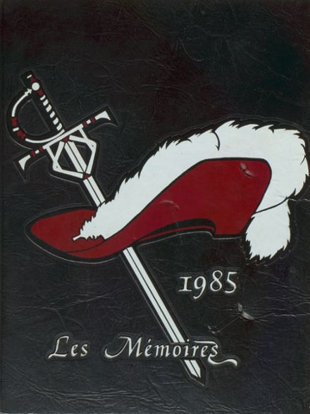 1985 Grover Cleveland High School Yearbook Cover