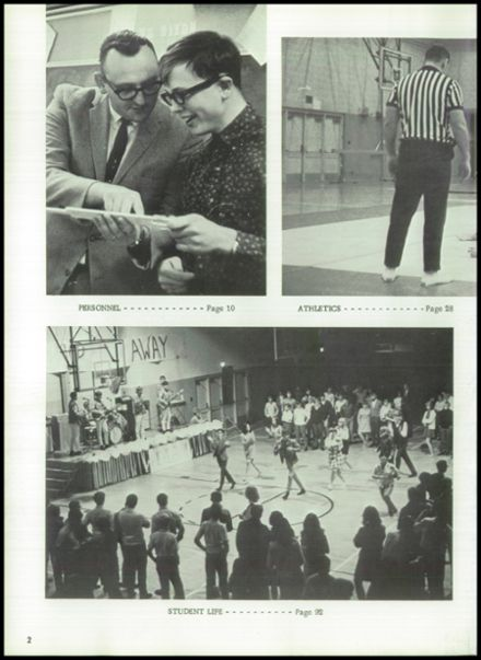 1969 Davison High School Yearbook Page 6