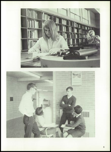 1969 Davison High School Yearbook Page 9
