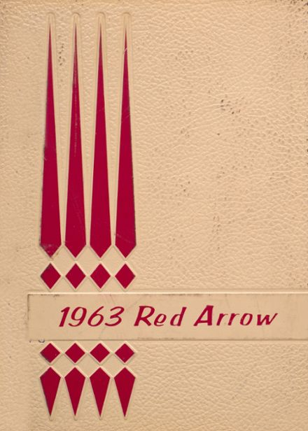 1963 Bayard High School Yearbook Cover