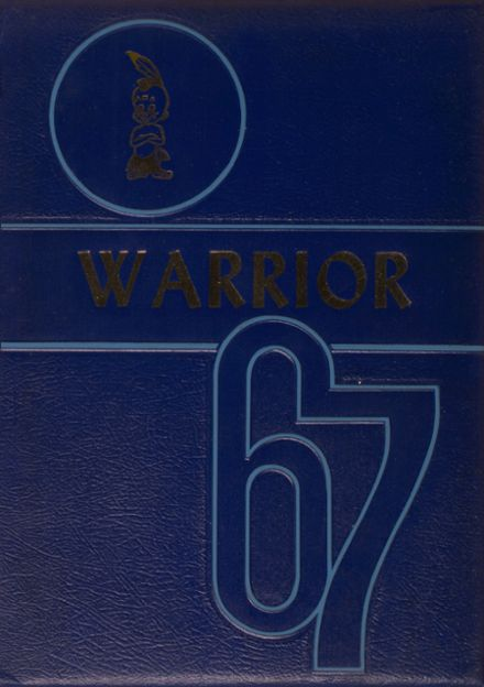 1967 Southern Local High School Yearbook Cover