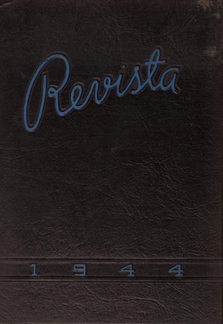 1944 Port Clinton High School Yearbook Cover