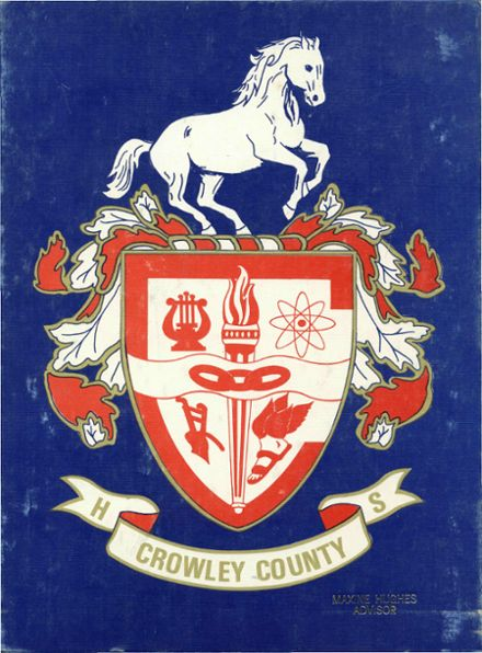 1976 Crowley County High School Yearbook Cover