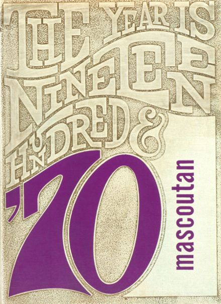 1970 Mascoutah High School Yearbook Cover