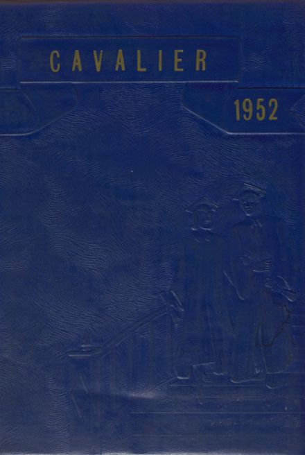 1952 South Lake High School Yearbook Cover