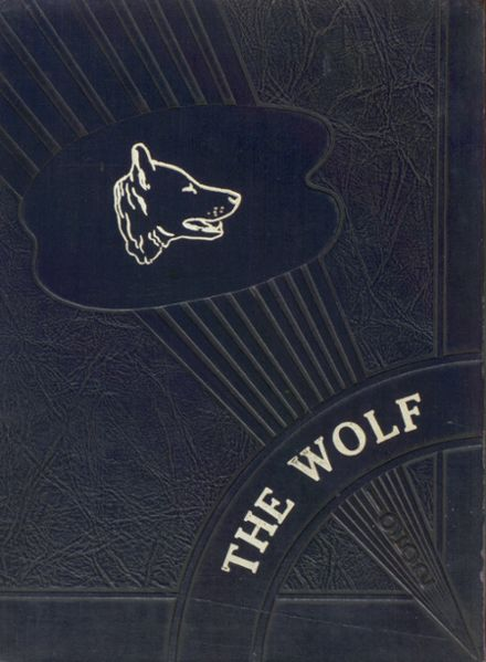 1952 Wolfe City High School Yearbook Cover