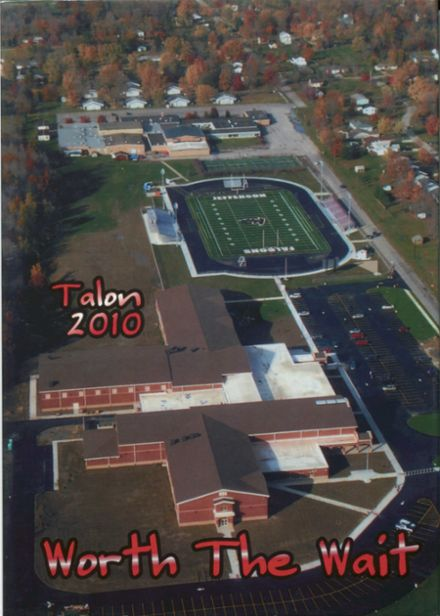 2010 Jefferson Area High School Yearbook Cover